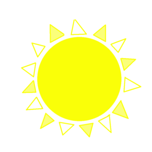 People create online sketches as a digital yellow sun drawing to express a sentiment or an idea and this is the way to collaborate with aNa artist's creative webinar game.
