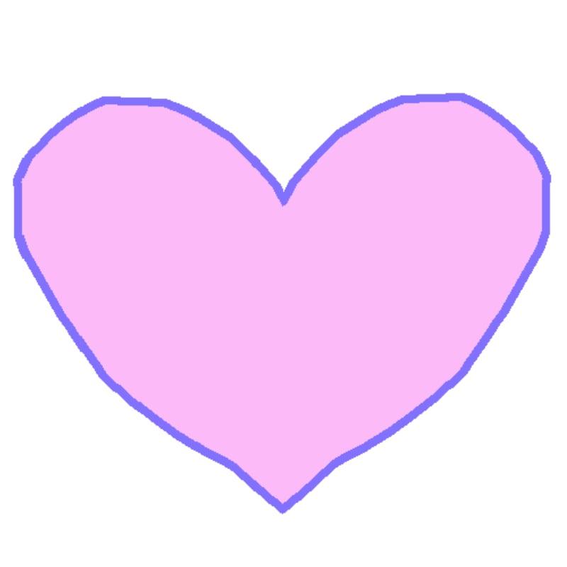 aNa's Webinar games Digital Pink Heart Drawing sketch