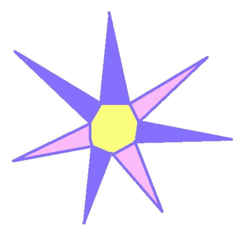 Nice Purple Flower ana artist's webinar game Virtual Sketch