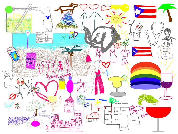 Orlando's Floridian Studio digital mural backdrop at 100 E Pine St Suite 110, Orlando, FL 32801, US