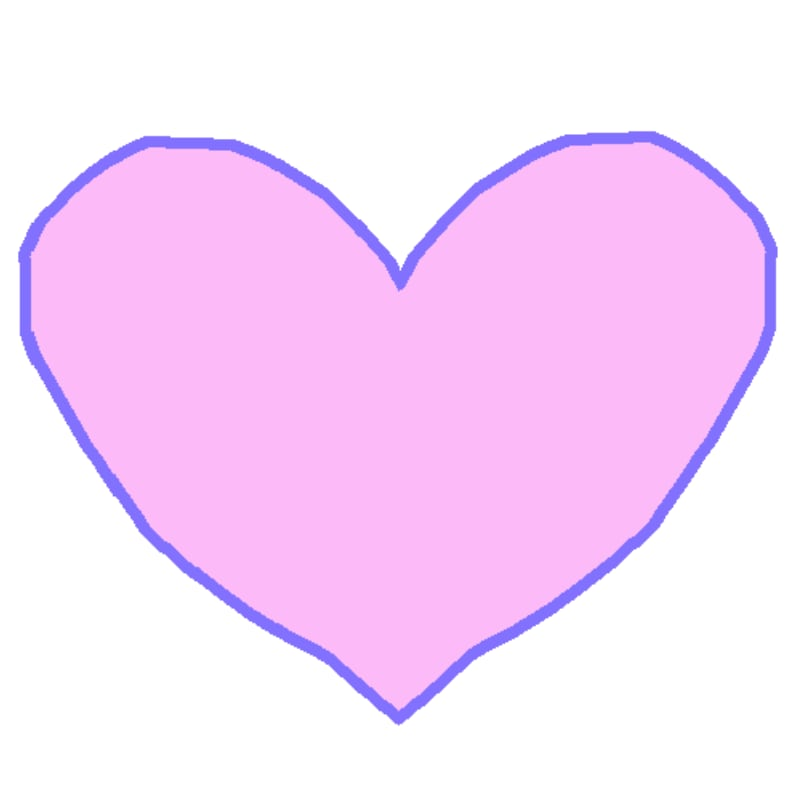 aNa's Webinar games Digital Pink Heart Drawing sketch