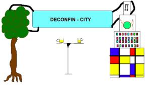 Le dessin de François à propos de sa vision quant à la ville de demain