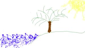 The TrueSpace World Wide Digital Remote Team Building Leyla - Ocean, Palm Trees & Sun. My Favorite