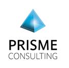 Logotype couleur Prisme Consulting pour service de Voeux digitaux interactifs