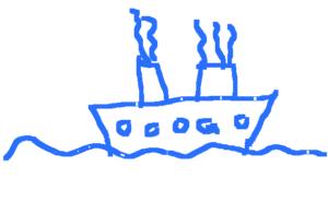 Le rêve de Voyage en Paquebot de Yann