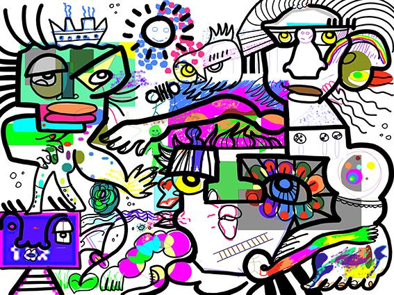 Cabinet Belpaeme Conseil MoodBoard artistique interactif par aNa artiste via webinar.games
