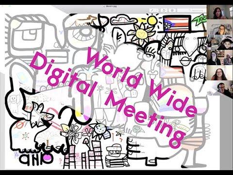 World wide Virtual artistic Event