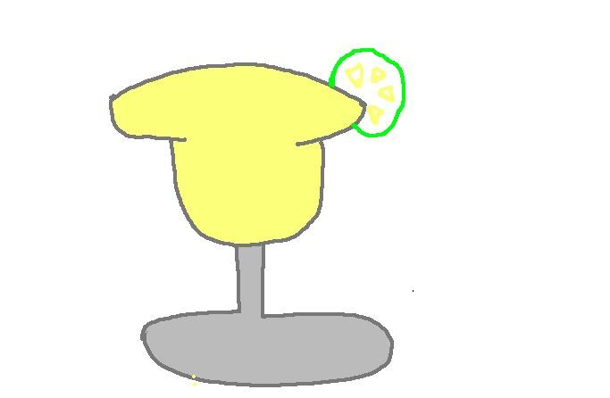 Faviola Drink Drawing